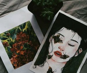 aesthetics, art, and flowers image