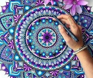 mandala and art image