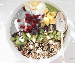 healthy and acai bowl image