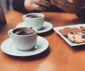 coffee, cookie, and talk image