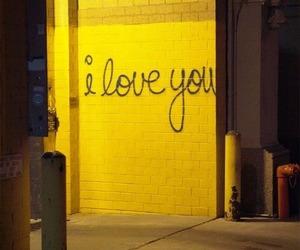 yellow and wall image
