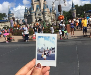 castle, disney, and happy image