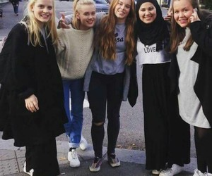 skam, noora, and eva image