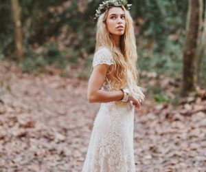 bohemian, hippy, and wedding image