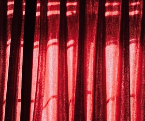 curtains, photography, and red image