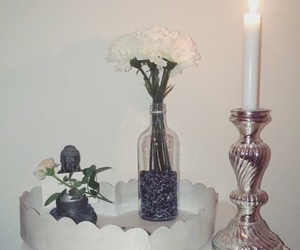 candle, nature, and zen image