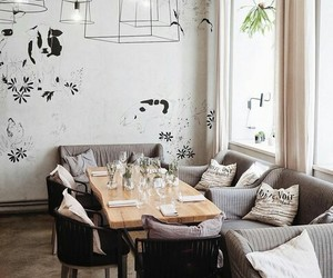 cafe, cosy, and interior image