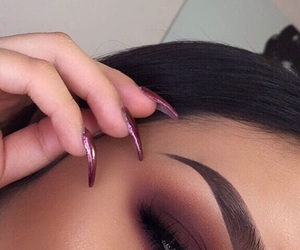 nails, style, and kylie jenner image