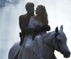 horse, princess, and couple image