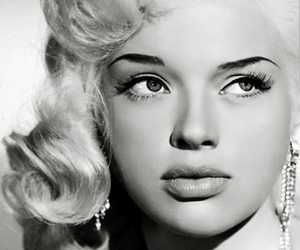 Diana Dors, 50s, and vintage image