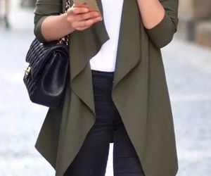 fashion, coat, and jacket image