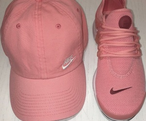 nike, hat, and pink image