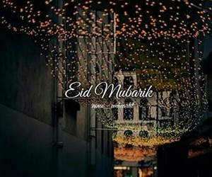 eid, happy, and muslims image