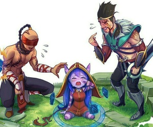 lulu, league of legends, and draven image