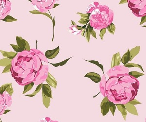 floral, iphone, and wallpaper image