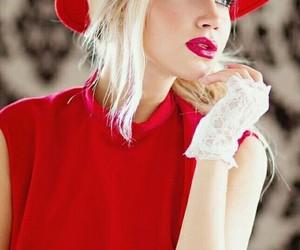 blonde, women, and fashion image