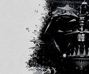 darth vader, star wars, and guerra de las galaxias image