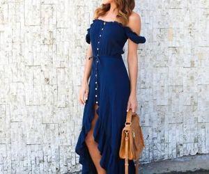 fashion and off shoulder dress image
