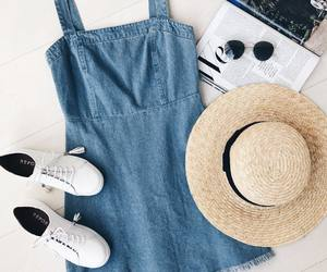 clothes, outfit, and denim image