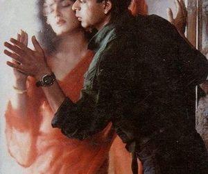 shahrukh khan, raveena tandon, and zamaana deewana image
