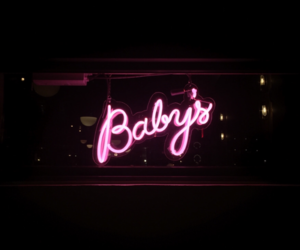 lights, neon, and purple image
