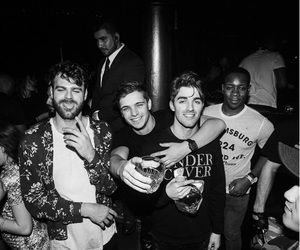 dj, martin garrix, and the chainsmokers image