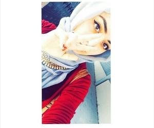 girl, محجبات, and بُنَاتّ image
