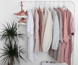 closet, minimalist, and clothing image