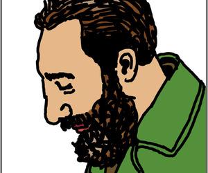caricatura, cartoon, and cuba image