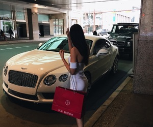 Bentley, girl, and luxury image
