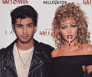 grease, Halloween, and zaynmalik image