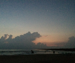 beach, playa, and sunrise image