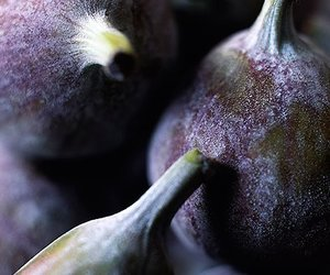 blue, fig, and food image