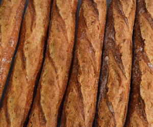 baguette, yummy, and brown image