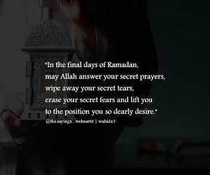 muslims, pray, and Ramadan image