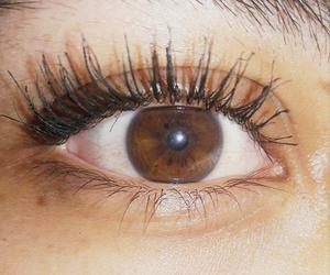 cafe, pestañas, and eyes image
