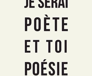 quotes, french, and poetry image