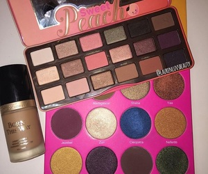 beauty, makeup, and palettes image