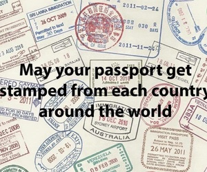 passport, travel, and world image