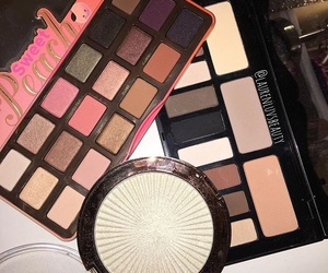 beauty, highlighter, and kat von d image