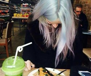 hair, gemma styles, and food image