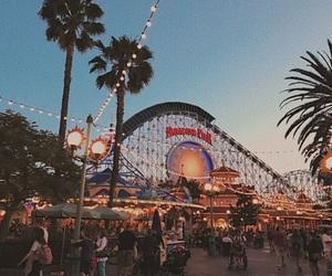 amusement park, delight, and happy image