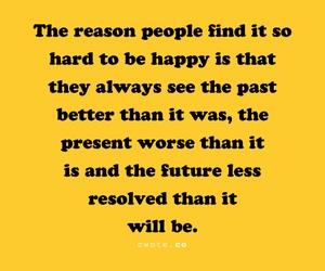 happy, quote, and black image