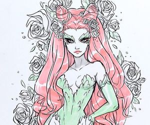 poison ivy, dc comics, and pamela isley image