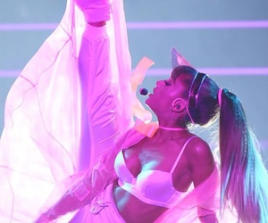 ariana grande, dangerous woman, and side to side image