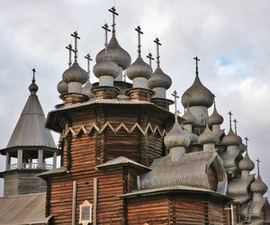 russia, wooden, and no nails image