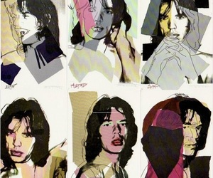 Pop Art And Rolling Stones Image
