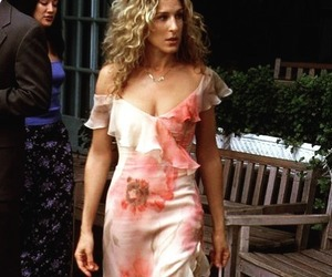 Carrie Bradshaw, dress, and fashion image