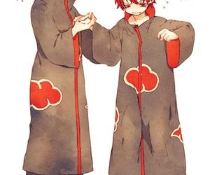 akatsuki, sasori, and konan image