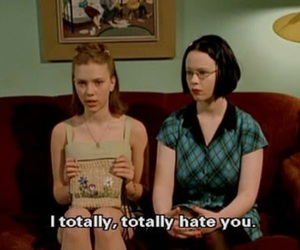 hate, quotes, and ghost world image